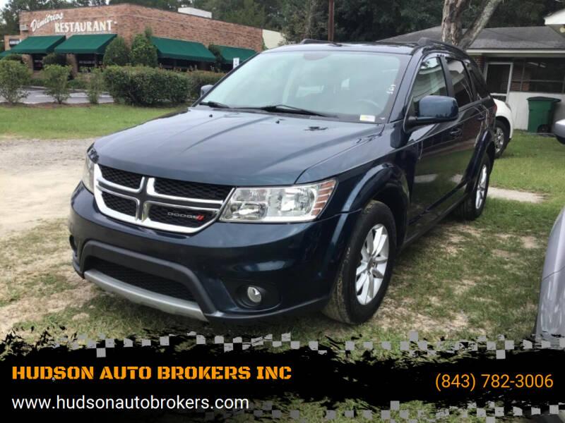 2014 Dodge Journey for sale at HUDSON AUTO BROKERS INC in Walterboro SC