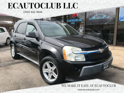2005 Chevrolet Equinox for sale at ECAUTOCLUB LLC in Kent OH
