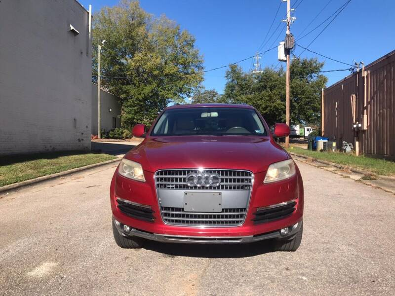 2008 Audi Q7 for sale at Horizon Auto Sales in Raleigh NC