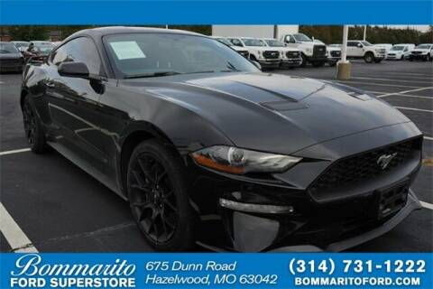 2018 Ford Mustang for sale at NICK FARACE AT BOMMARITO FORD in Hazelwood MO