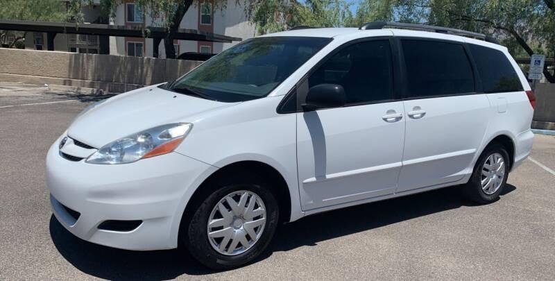 2010 Toyota Sienna for sale at Tucson Auto Sales in Tucson AZ