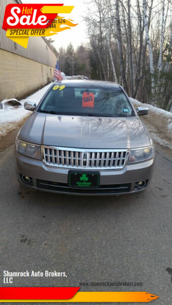 2009 Lincoln MKZ for sale at Shamrock Auto Brokers, LLC in Belmont NH