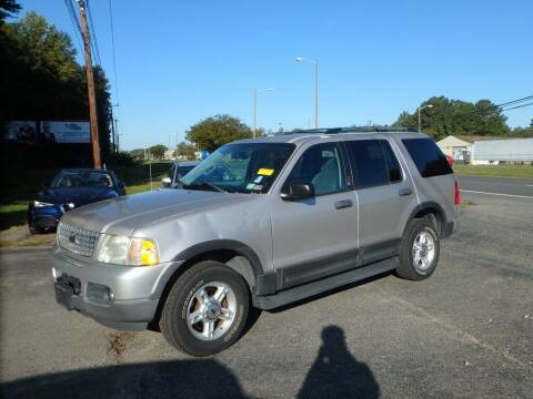 2003 Ford Explorer for sale at 6348 Auto Sales in Chesapeake VA