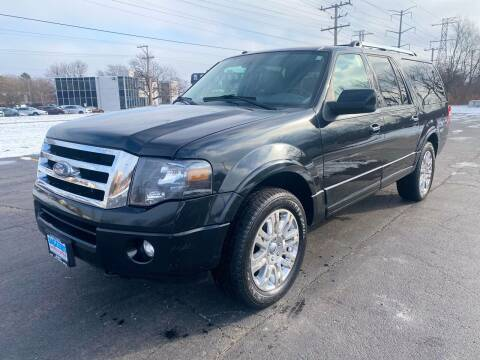 2011 Ford Expedition EL for sale at Siglers Auto Center in Skokie IL