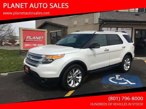 2015 Ford Explorer for sale at PLANET AUTO SALES in Lindon UT