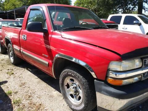 2002 Chevrolet Silverado 1500 for sale at Ody's Autos in Houston TX