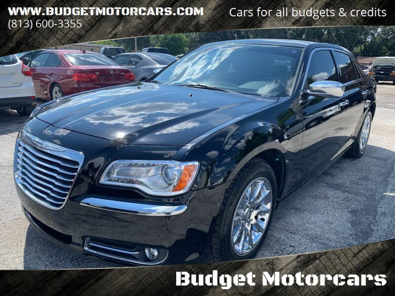 2011 Chrysler 300 for sale at Budget Motorcars in Tampa FL