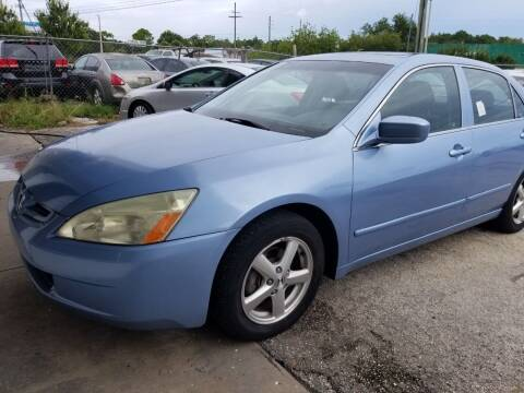 2005 Honda Accord for sale at Fantasy Motors Inc. in Orlando FL