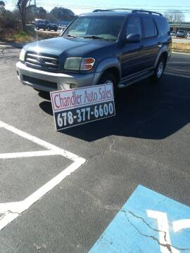 2004 Toyota Sequoia for sale at Chandler Auto Sales - ABC Rent A Car in Lawrenceville GA