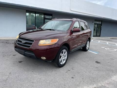 2009 Hyundai Santa Fe for sale at UNITED AUTO BROKERS in Hollywood FL