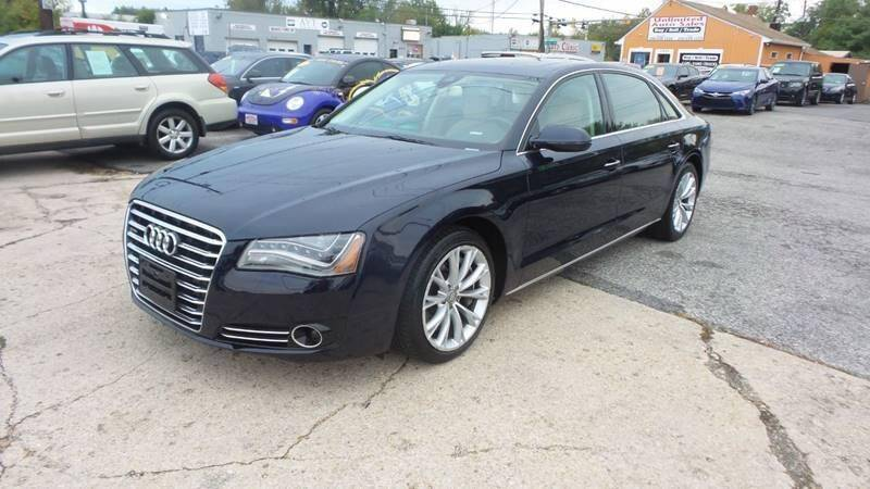 2012 Audi A8 L for sale at Unlimited Auto Sales in Upper Marlboro MD