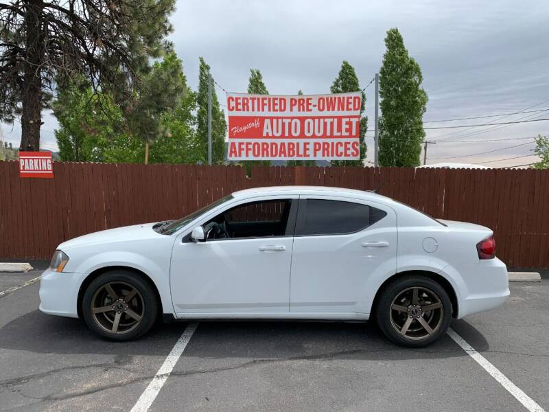 2013 Dodge Avenger for sale at Flagstaff Auto Outlet in Flagstaff AZ
