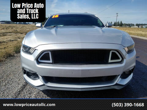 2016 Ford Mustang for sale at Low Price Auto and Truck Sales, LLC in Brooks OR