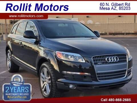 2007 Audi Q7 for sale at Rollit Motors in Mesa AZ