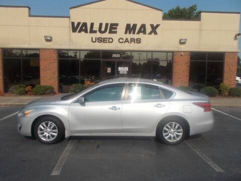 2015 Nissan Altima for sale at ValueMax Used Cars in Greenville NC