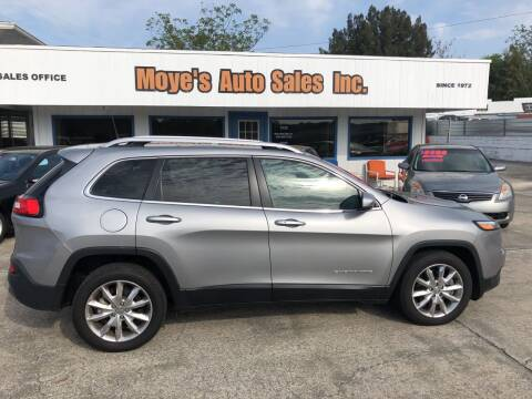 2016 Jeep Cherokee for sale at Moye's Auto Sales Inc. in Leesburg FL