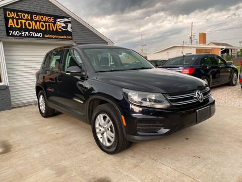 2013 Volkswagen Tiguan for sale at Dalton George Automotive in Marietta OH