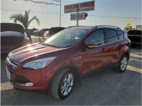 2014 Ford Escape for sale at Dealers Choice Inc in Farmersville CA