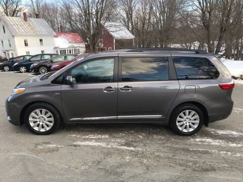 2016 Toyota Sienna for sale at MICHAEL MOTORS in Farmington ME
