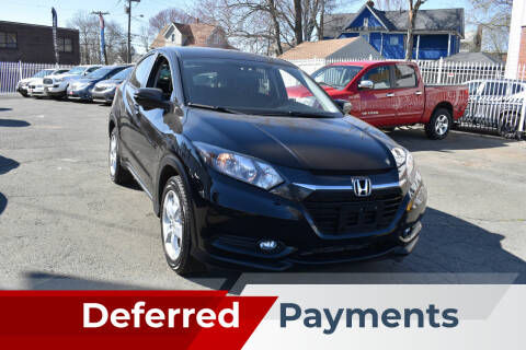 2016 Honda HR-V for sale at New Park Avenue Auto Inc in Hartford CT