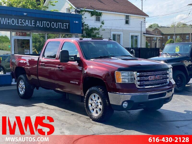 2013 GMC Sierra 2500HD for sale at MWS Wholesale  Auto Outlet in Grand Rapids MI