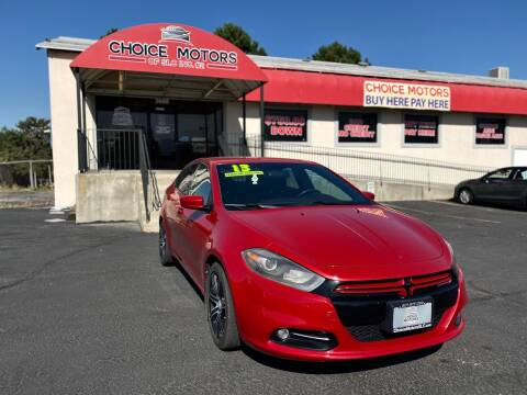 2013 Dodge Dart for sale at Choice Motors of Salt Lake City in West Valley  City UT