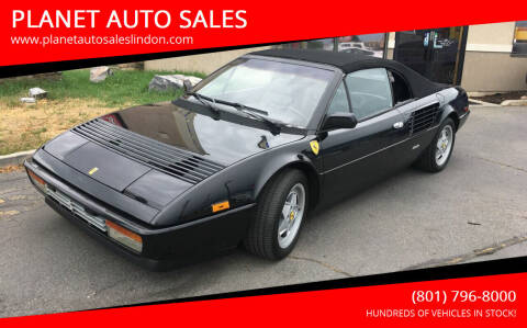 1988 Ferrari Mondial Cabriolet for sale at PLANET AUTO SALES in Lindon UT