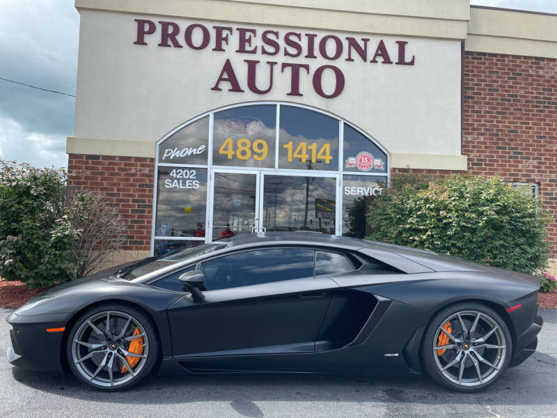 2014 Lamborghini Aventador for sale at Professional Auto Sales & Service in Fort Wayne IN