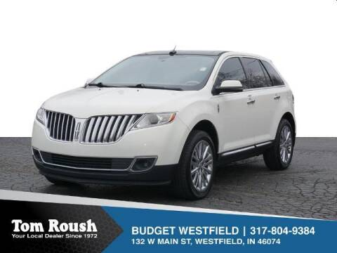 2012 Lincoln MKX for sale at Tom Roush Budget Westfield in Westfield IN