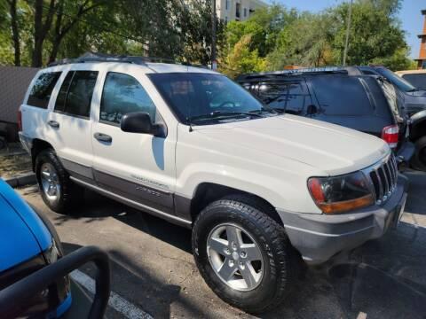2001 Jeep Grand Cherokee for sale at ATLAS MOTORS INC in Salt Lake City UT