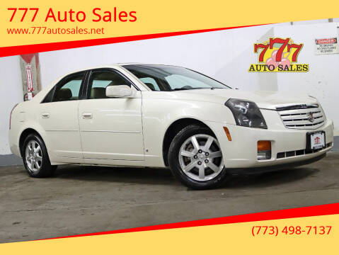 2007 Cadillac CTS for sale at 777 Auto Sales in Bedford Park IL