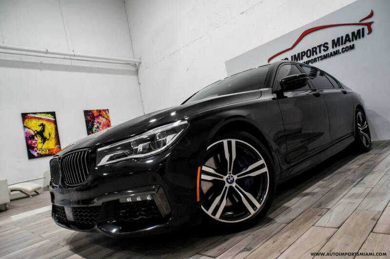 2017 BMW 7 Series for sale at AUTO IMPORTS MIAMI in Fort Lauderdale FL