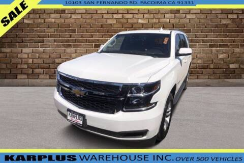 2018 Chevrolet Tahoe for sale at Karplus Warehouse in Pacoima CA