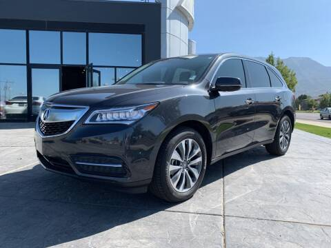 2016 Acura MDX for sale at Berge Auto in Orem UT
