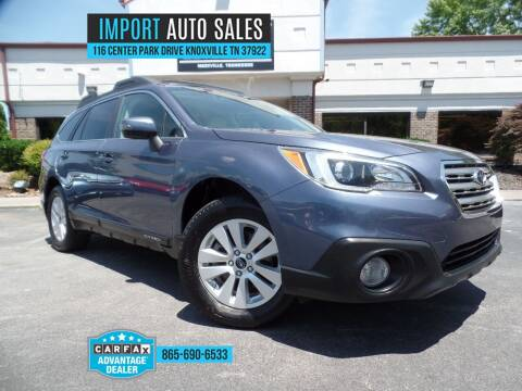 2015 Subaru Outback for sale at IMPORT AUTO SALES in Knoxville TN