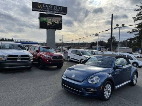 2018 Volkswagen Beetle Convertible for sale at Lakeside Auto in Lynnwood WA