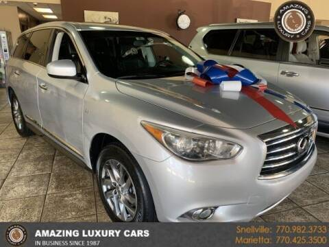 2015 Infiniti QX60 for sale at Amazing Luxury Cars in Snellville GA