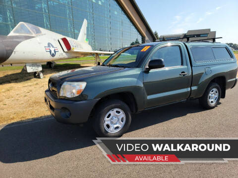 2011 Toyota Tacoma for sale at McMinnville Auto Sales LLC in Mcminnville OR