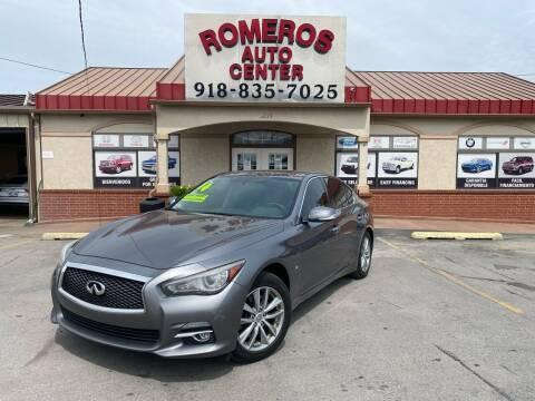 2014 Infiniti Q50 for sale at Romeros Auto Center in Tulsa OK