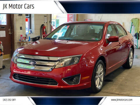 2010 Ford Fusion for sale at JK Motor Cars in Pittsburgh PA