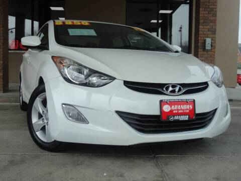 2013 Hyundai Elantra for sale at Arandas Auto Sales in Milwaukee WI
