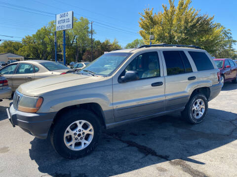 2001 Jeep Grand Cherokee for sale at Dave-O Motor Co. in Haltom City TX