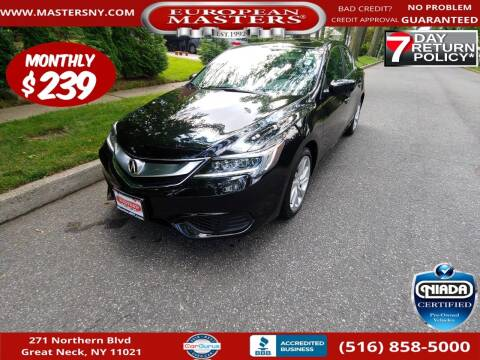 2018 Acura ILX for sale at European Masters in Great Neck NY