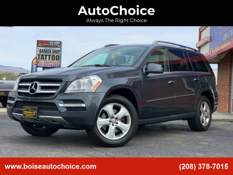 2012 Mercedes-Benz GL-Class for sale at AutoChoice in Boise ID