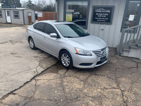 2015 Nissan Sentra for sale at Rutledge Auto Group in Palestine TX