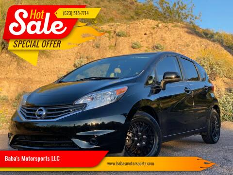 2014 Nissan Versa Note for sale at Baba's Motorsports, LLC in Phoenix AZ