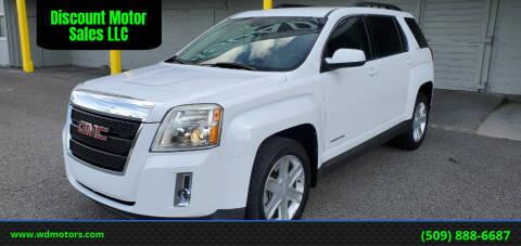 2010 GMC Terrain for sale at Discount Motor Sales LLC in Wenatchee WA