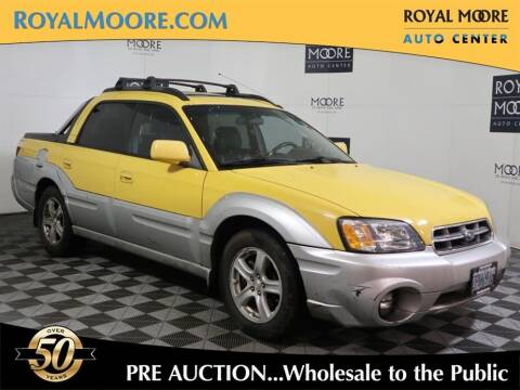 2003 Subaru Baja for sale at Royal Moore Custom Finance in Hillsboro OR