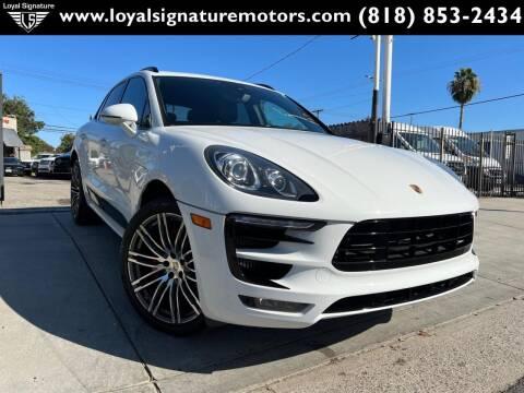 2015 Porsche Macan for sale at Loyal Signature Motors Inc. in Van Nuys CA