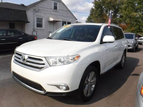 2012 Toyota Highlander for sale at Rob Co Automotive LLC in Springfield TN